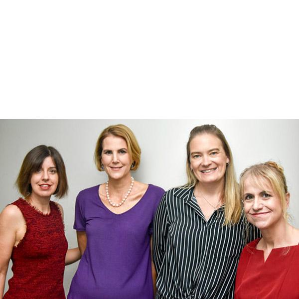 Dr Michaela Lee staff group portrait